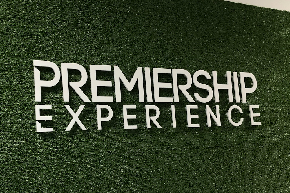 Signs Glasgow Premiership Experience Acrylic Letters Light Box Signs Glasgow Edinburgh Signs
