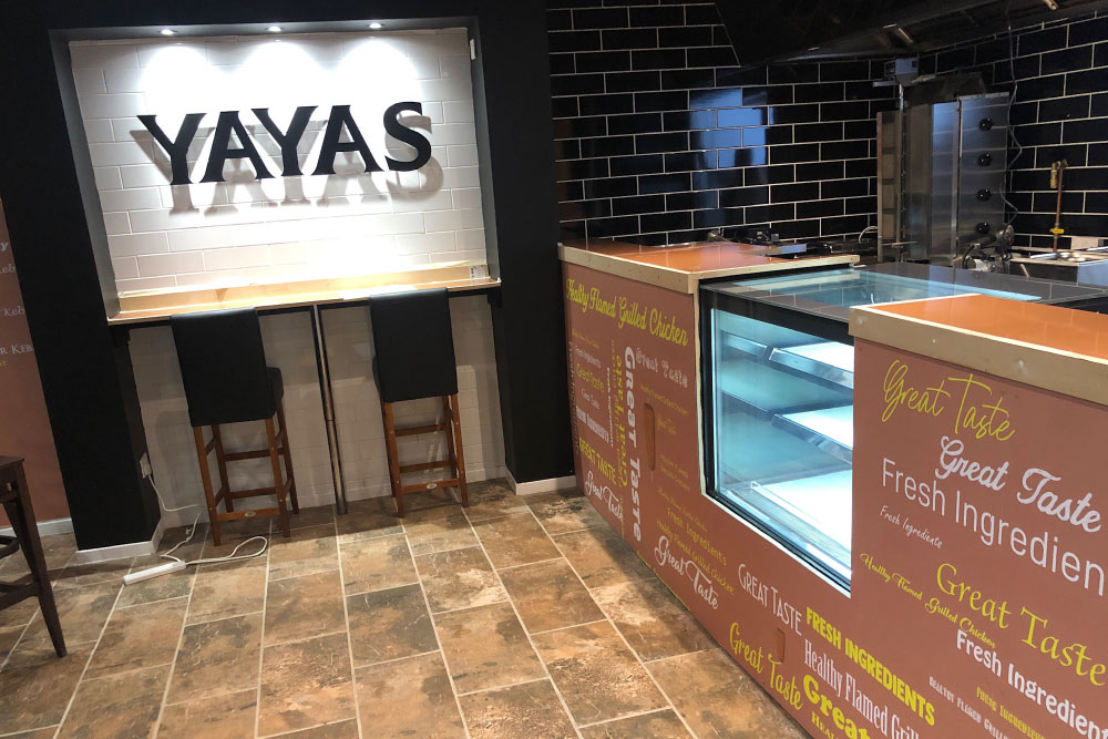 Signs Glasgow Yayas German Doner Peri Peri 3D Light Letters Light Box Signs Glasgow Edinburgh Signs 2